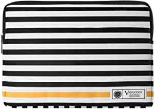 Striped 13.3 to 14 Inch Laptop Sleeve for Lenovo IdeaPad 130, 130s, 330, 330s, 720s, 730s, S940, S340, ThinkBook 13s, 14s, Yoga 720, 730, 900, C930, C930 Glass, C630, 14W, 14e Chromebook, Flex 14