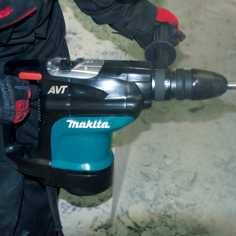 Makita HR4510C 1-3/4 inch AVT Rotary Hammer, SDS-MAX - Power Rotary ...