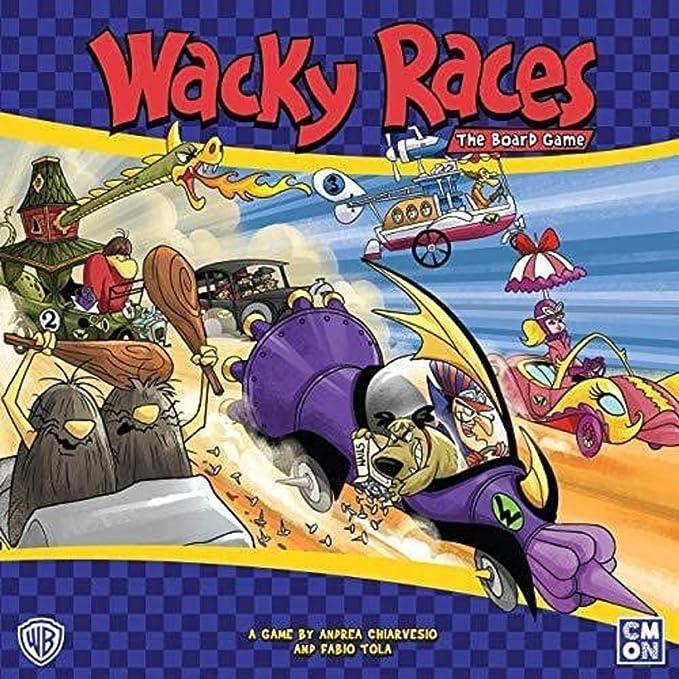 Wacky Races: The Board Game: Amazon.es: Juguetes y juegos