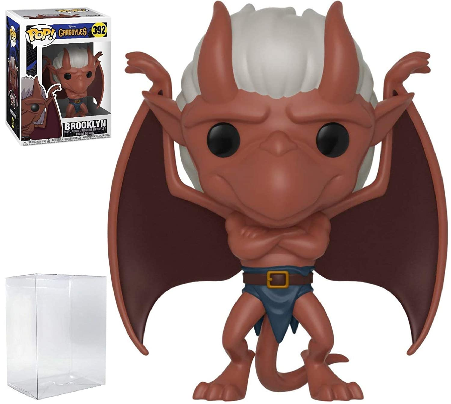 Bundled with Pop Box Protector Case Funko Pop Brooklyn Vinyl Figure Disney: Gargoyles