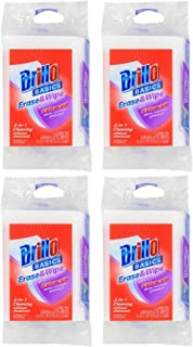 product image for Brillo Basics Erase & Wipe with Estracell Sponges, 4-ct Set