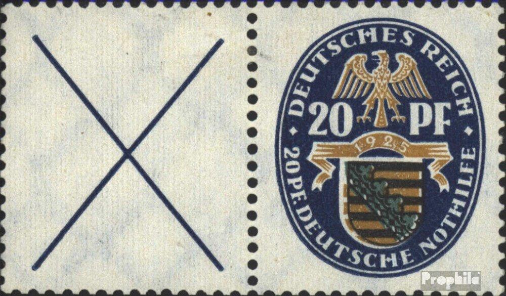 Prophila Collection Deutsches Reich W20.1 1925 Nothilfe (Briefmarken für Sammler)