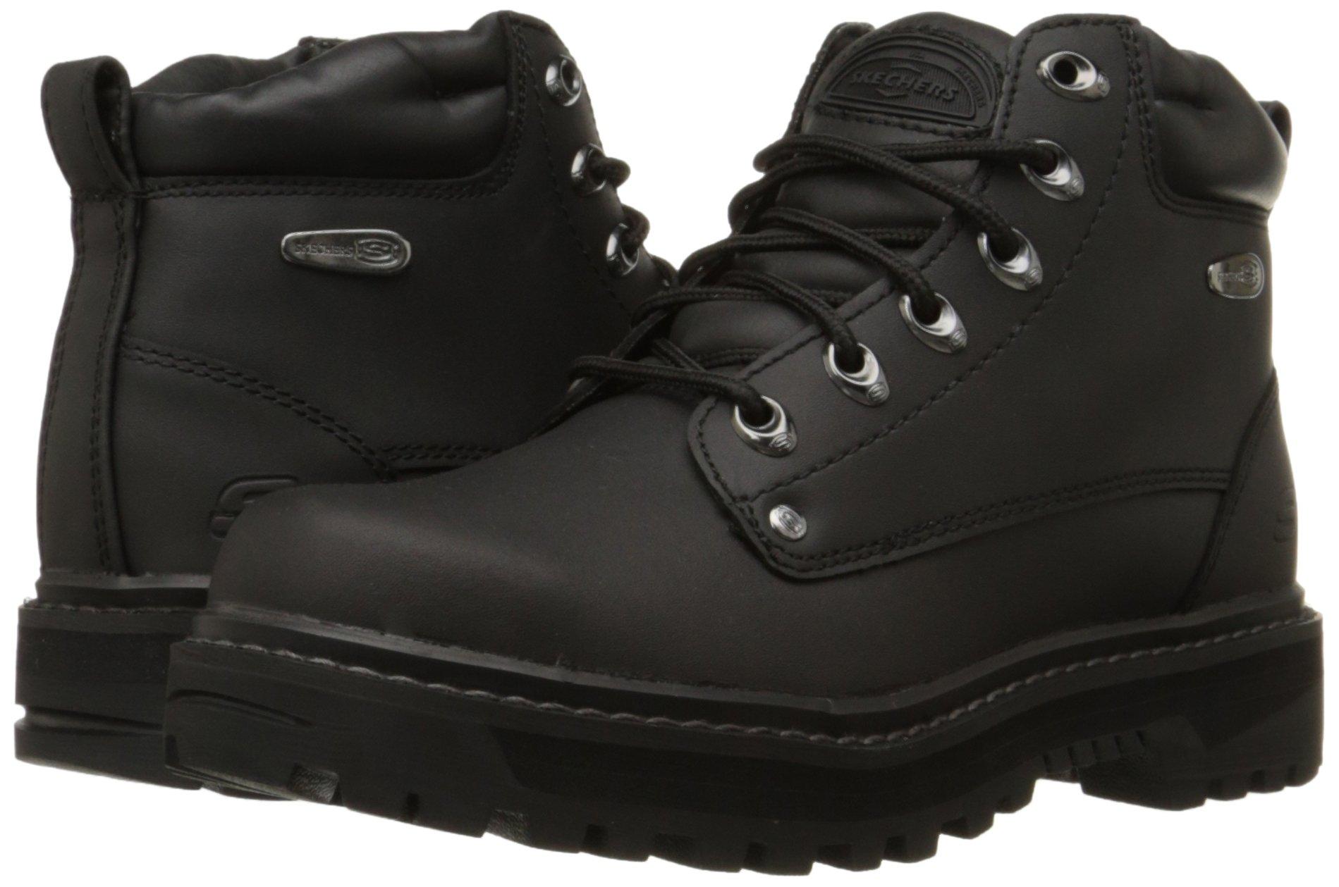 Details about Skechers USA Men's Pilot Utility Boot,Black,7 M US Choose SZcolor