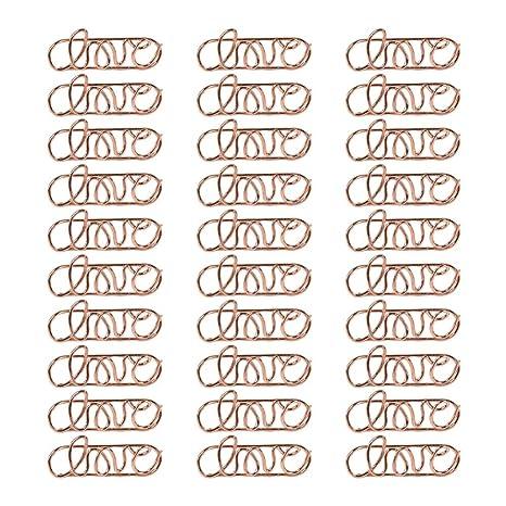 30 clips de metal para tarjetas de Toyvian con texto en inglés ...