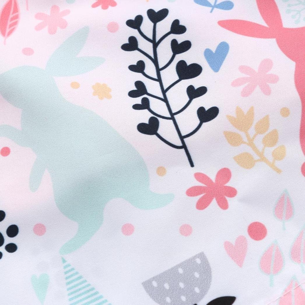 Culater 2018 New Bambina//Ragazza Maglietta Tops Solid Stampa Animal Coniglio Estate e Beach Gonne Pantaloni Abbigliamento Completo per Neonate