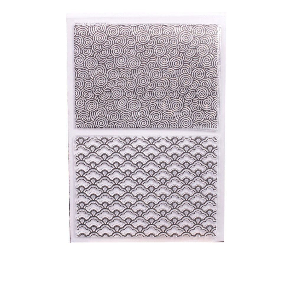 Swirls Woodgrain Ocean Waves Background Scrapbook DIY Photo Cards Rubber Stamp Clear Stamps Transparent Stamp