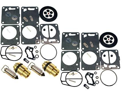 Amazon com: Yamaha Dual Mikuni Carburetor Rebuild Kit