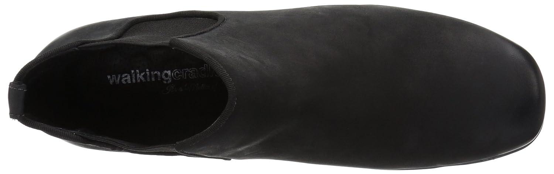 Walking Cradles Women's Ante Ankle Boot B01NCZDZN4 9 W US|Black Distressed