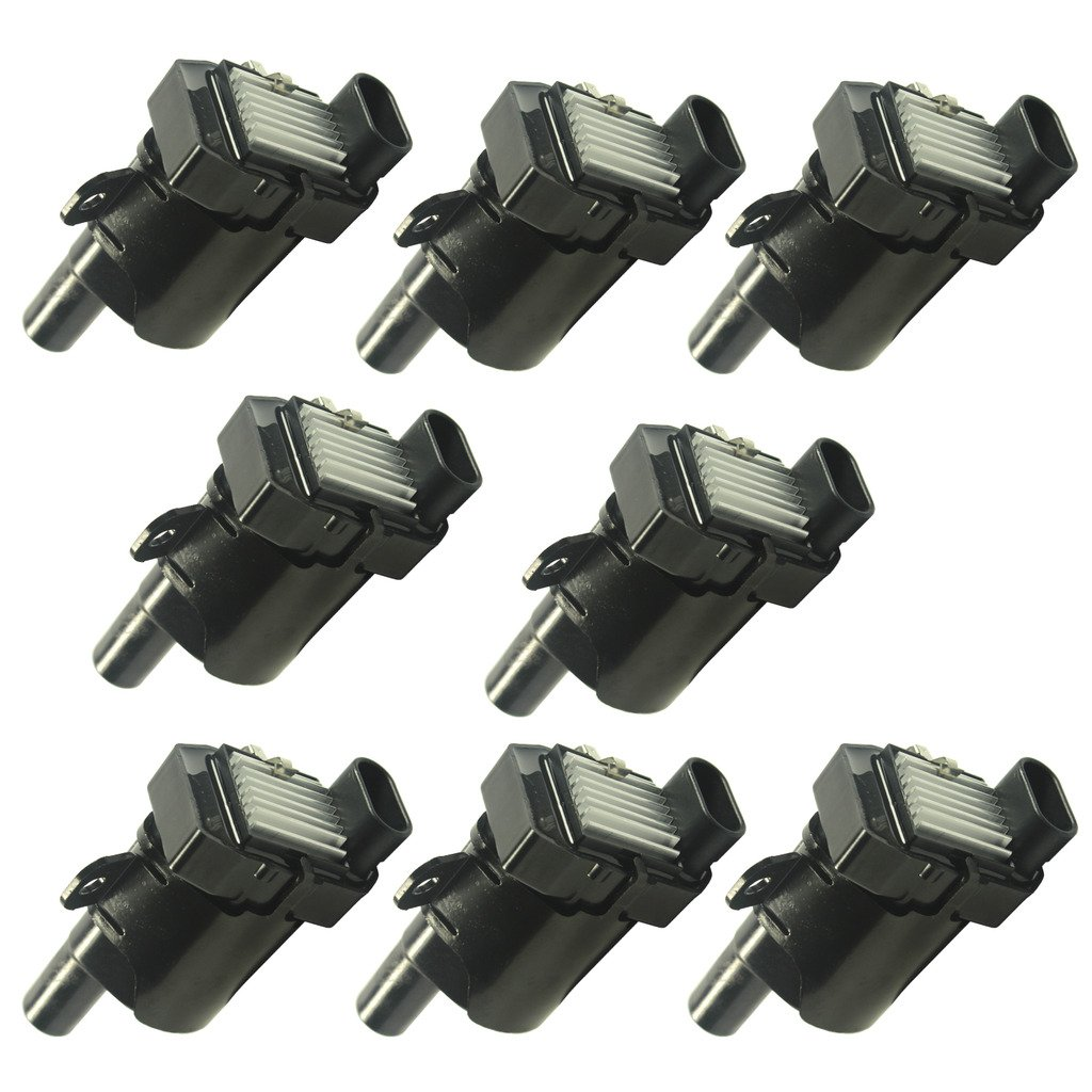 Jdmspeed New Set Of 8 Round Ignition Coils On Plug Pack Ls Coil Wire Harness For Buick Cadillac Chevy Gmc Isuzu V8 Automotive