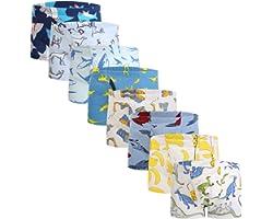 Boys Boxer Briefs Shorts Cotton Baby Toddler Underwear for Kids Boy 6/8 Pack