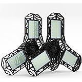 LED Garage Lights 60W-2 Packs LED Garage Lighting 6000LM E26/27 - Deformable LED Shop Light - Garage Ceiling Light, LED Light