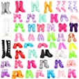 Barwa 50 Shoes Randomly Style for 11.5 Inch 28 - 30 cm Dolls Include Boots, High Heels, Dance Shoes, Slippers and Other Kinds of Shoes