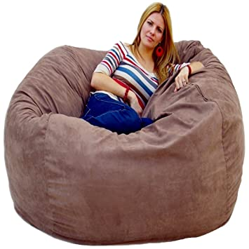 Cozy Sack 5 Feet Bean Bag Chair Large Earth