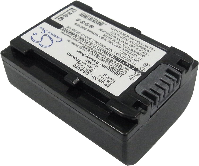 Battery Replacement for Sony DCR-DVD450E DCR-DVD450E DCR-DVD505E DCR-DVD506 DCR-DVD506E DCR-DVD508 DCR-DVD508E Record