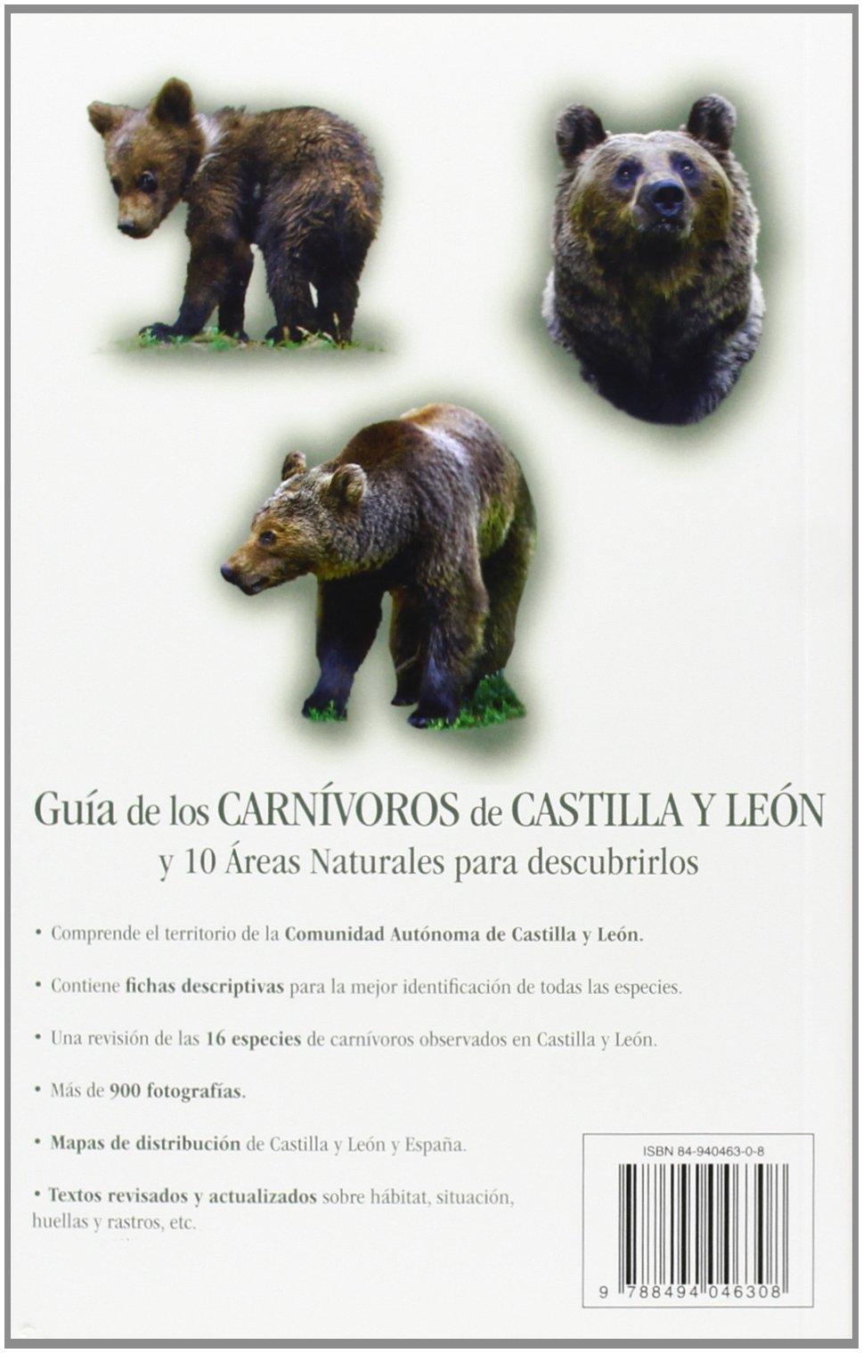 GUIA DE LOS CARNIVOROS DE CASTILLA Y LEON: Amazon.es: VV.AA.: Libros