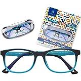 Blue Light Glasses Kids Girls & Boys-Computer Gaming Eyeglasses - Anti Eyestrain