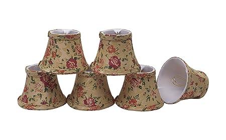 Aspen Creative 30005 6 Small Bell Shape Chandelier Clip On
