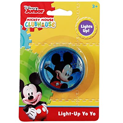 Disney Mickey Mouse Light Up Yo-Yo: Toys & Games