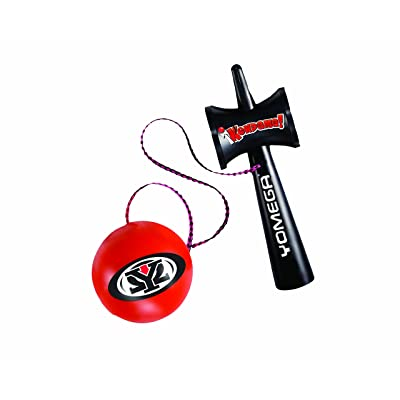 Yomega Kendama – The Traditional Japanese Toss and Catch Skill Toy made of durable plastic. Colors may vary.: Toys & Games