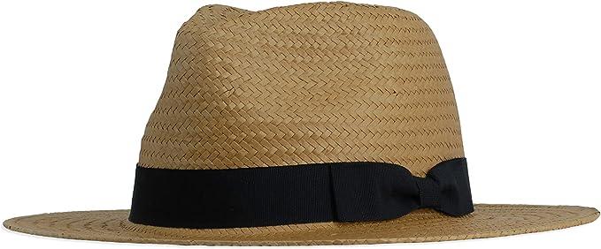 Gamble /& Gunn Havana Tan Panama Style Hat