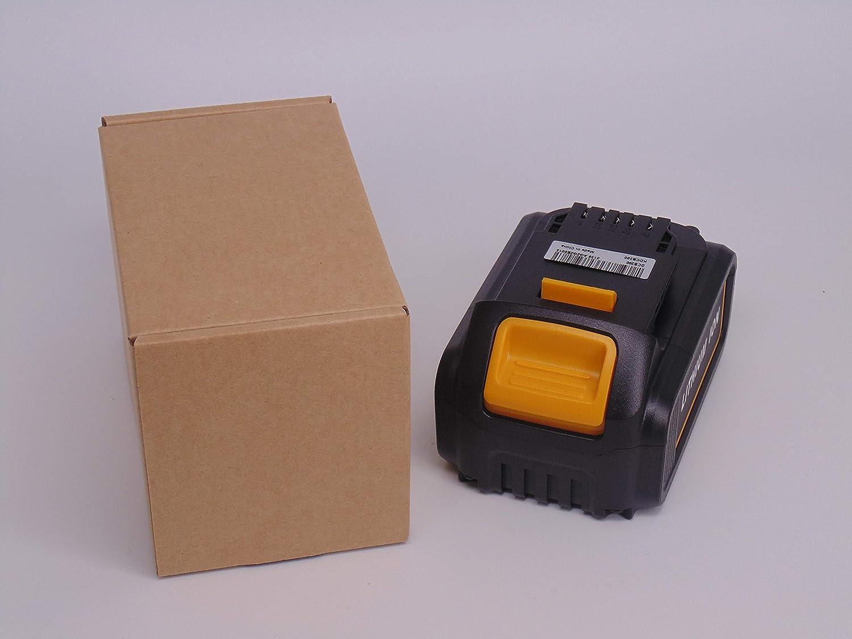FengWings/® 4000mAh DCB200 Li-ion Bater/ía 4,0Ah 18V 72Wh Reemplazar para Dewalt DCB180 DCB181 DCB182 DCB183 DCB185 DCD785 DCD795 DCF885 DCF895 DCS380 DCF880 DCB201 DCB204 Dewalt 18V Max