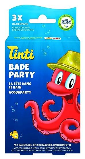 Tinti Badekonfetti 3er Pack Badespaß Kinder Baby Spaß