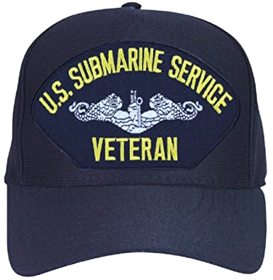 88a88a8f875ec Image Unavailable. Image not available for. Color  US Navy Submarine  Service Veteran Ball Cap