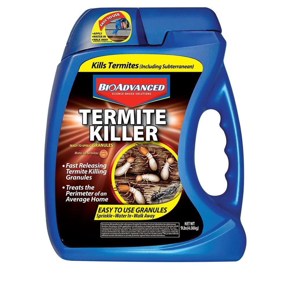 BioAdvanced 700350A Termite Killer Home Perimeter Treatment Ready-to-Spread Granules, 9-Pounds by BioAdvanced