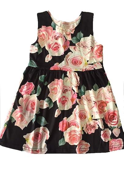 2babb3b67ab2 Mother Daughter Family Matching Dress Floral Long Maxi Sleeveless ...