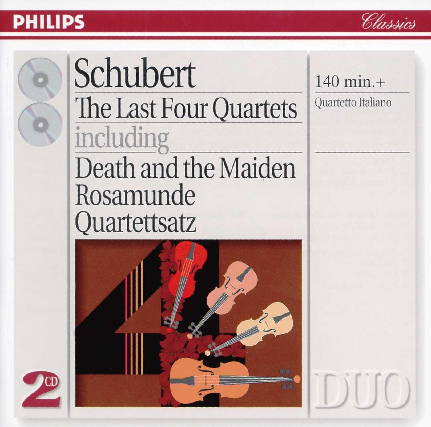 Cuartetos de cuerda de Schubert 71iizrC5SQL._SL1400_