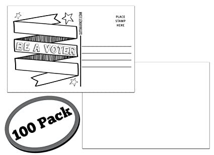 amazon com 100 pack of blank postcards each post card in this