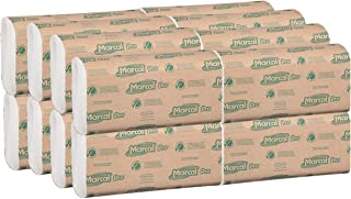 product image for Marcal Pro M-Fold Paper Towels, 100% Recycled, 1-Ply, Natural Color Hand Towels, 250 Per Pack, 16 Packs per Case for 4000 Total Green Seal Certified Towels P200B