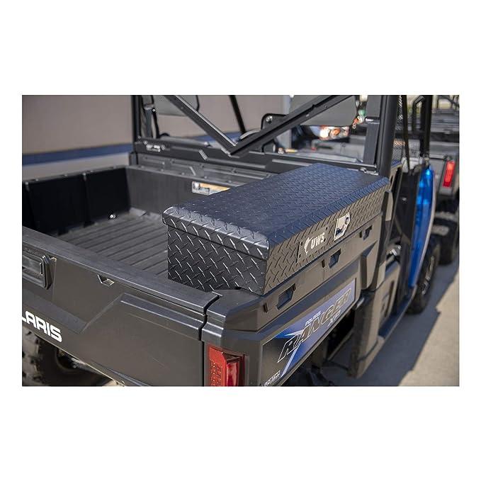 Weatherproof Lockable Polaris RZR 1000 Side Cargo Storage Security Box Secure