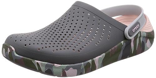 780f1afb9b404 crocs LiteRide Graphic Grey Men Clog  Amazon.in  Shoes   Handbags