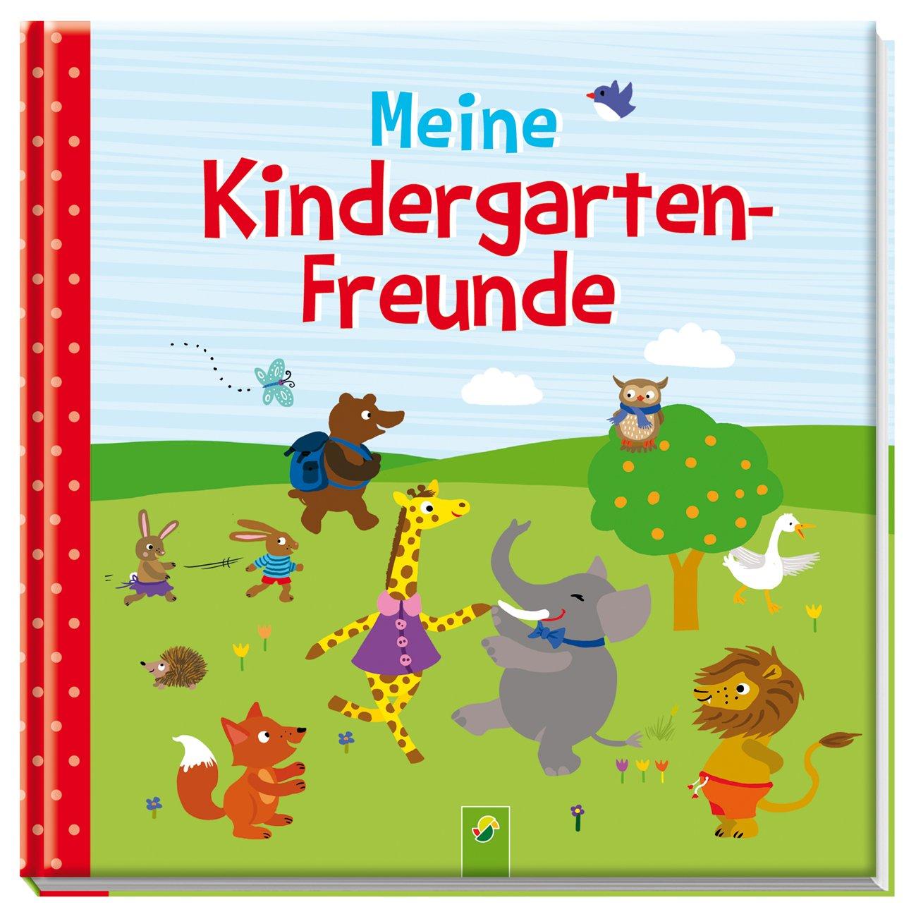Meine Kindergarten-Freunde: Freundebuch Motiv Tiere