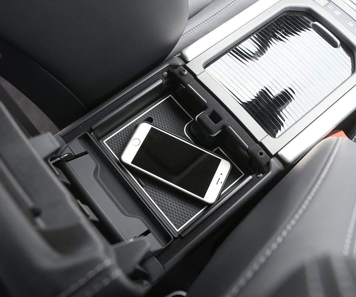 Autobro Plastic Armrest Storage Box Phone Glove Tray for Land Rover Range Rover Evoque 2012-2017 ATB-OC00697