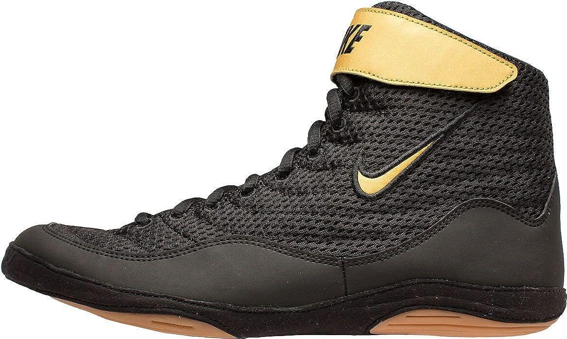 Nike Men\'s Inflict 3 Wrestling Shoes (Black/Black, 9.5 M US) 81iYZbRRNbLUL1500_