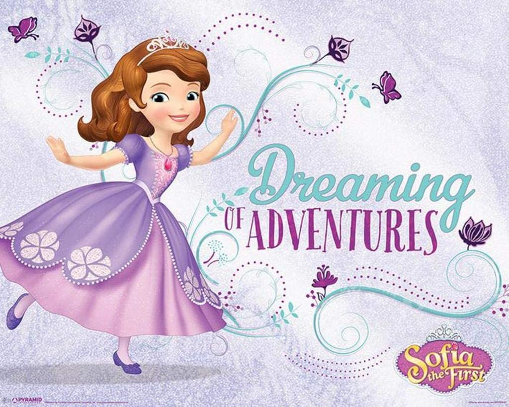 Pyramid International Sofia The First Dreaming Kids TV Show Cool Wall Decor Art Print Poster 20x16