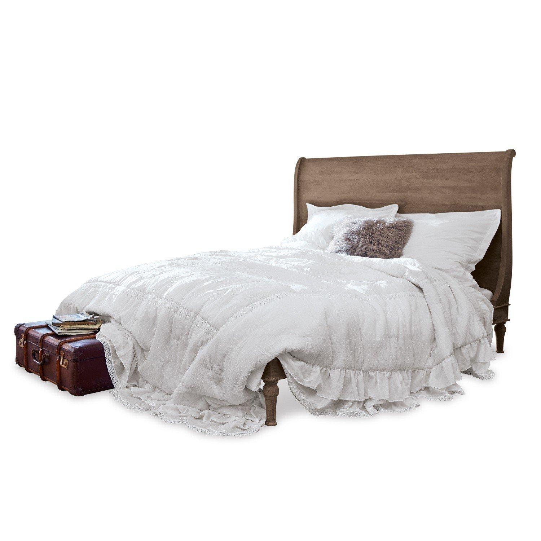 Loberon Quilt Pittefaux, Baumwolle, H B ca. 240 260 cm, weiß