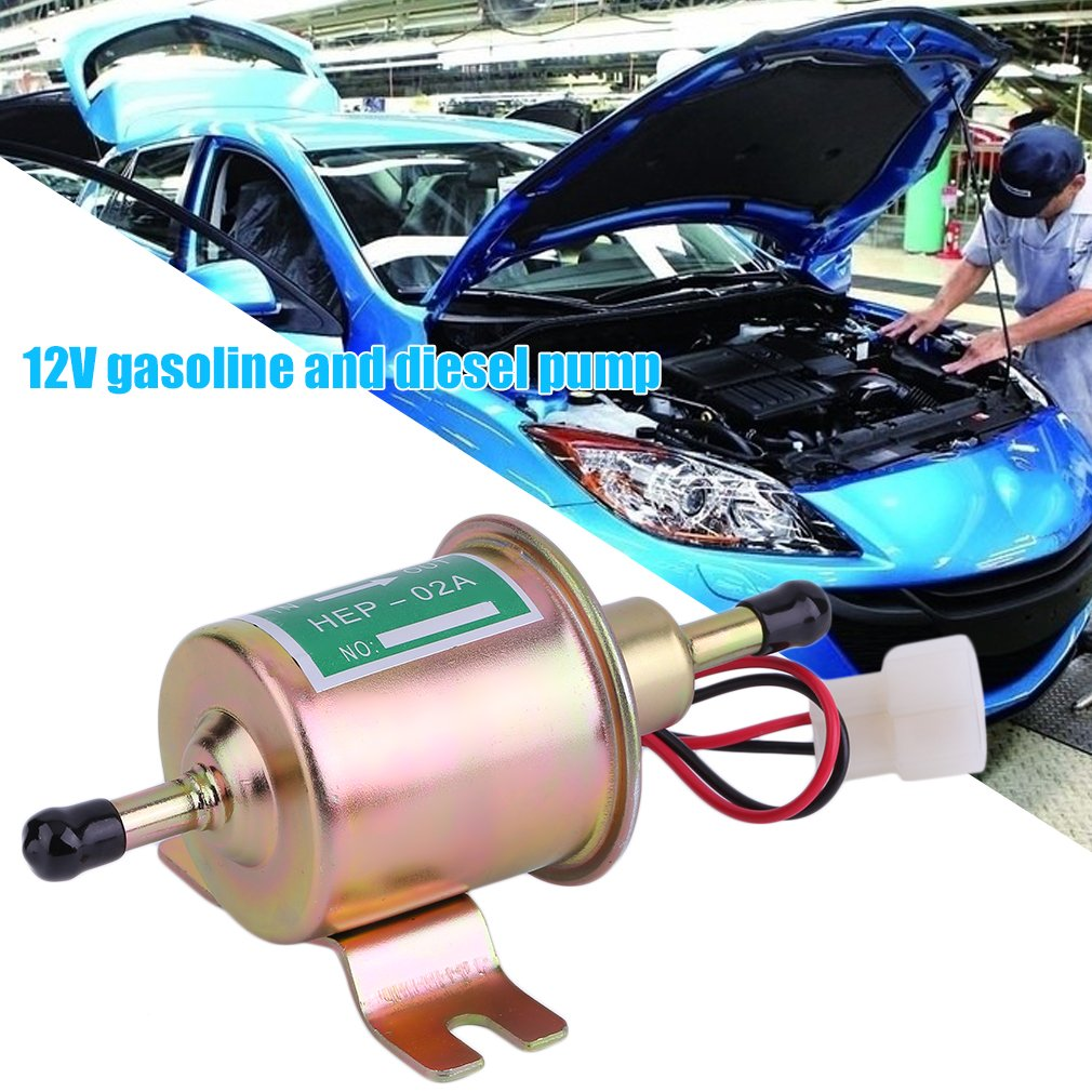 Acehe 12 V Universal Fuel Pump Electric Fuel Pump Diesel Petrol Construction Machines Luckywing