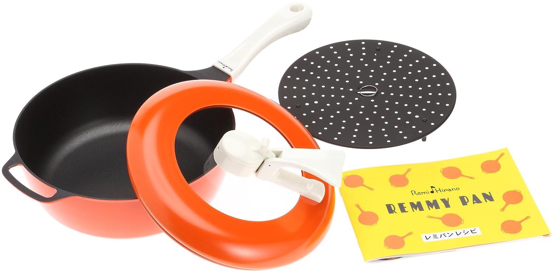 和平フレイズ レミヒラノ レミパン オレンジ 蒸し台セット B0045OV8HQ オレンジ オレンジ