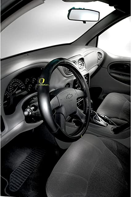 FANMATS NCAA University of Oregon Ducks Polyester Steering Wheel Cover