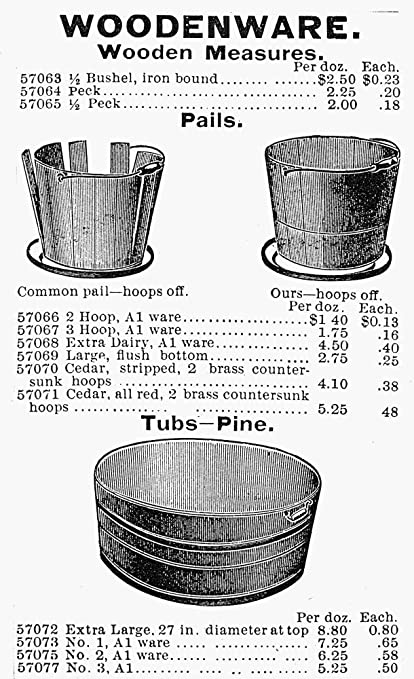 Amazon com: Posterazzi Poster Print Collection Bucket Advertisement