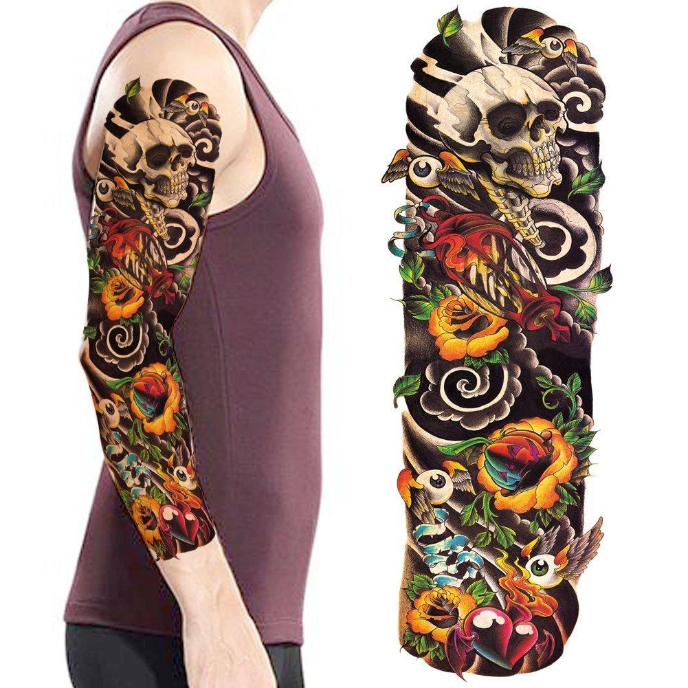 LZC - Tatuaje temporal unisex para adulto, para antebrazo y hombro ...