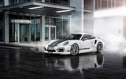 Clásico y músculo anuncios de coche y COCHE arte Techart Porsche 911 Turbo (2014)