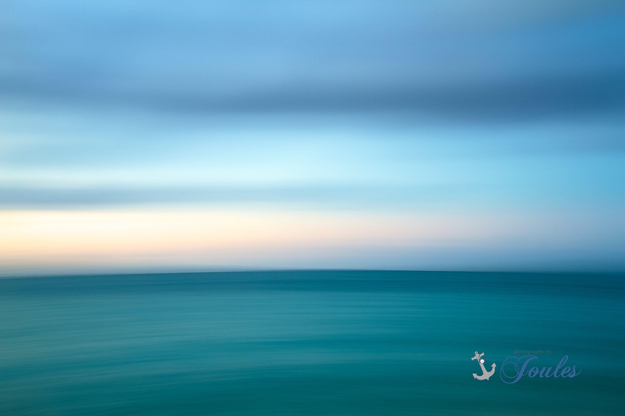 Fine Art Canvas ~ Caribbean Abstract ~ Turks and Caicos