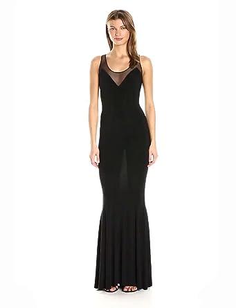 feba0ab8c2 Amazon.com  Norma Kamali Women s Racer Fishtail Gown Combo  Clothing