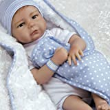 Paradise Galleries Ideale per Reborn Bambola Realistico Morbido Flex Touch 51cm Caucasian Baby Girl Doll Gift all The Ladies Love Me