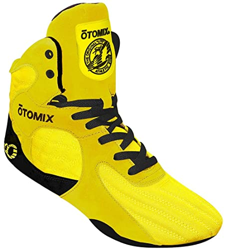 26bfd32ffc98a Otomix Yellow Stingray Escape Bodybuilding & Wrestling Shoes Men's ...