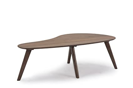 More Design Table Basse Mdf Et Bois Naturel 120 X 60 X 38 Cm